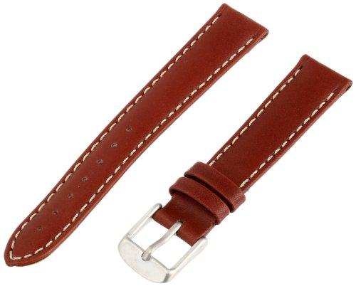 Momentum Women's ZC-16NAU Pathfinder 16mm Brown Nautica Leather Watch Strap