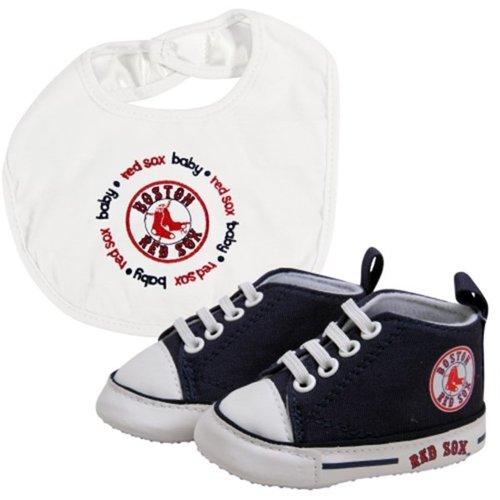 Baby Fanatic - MLB Velcro Closure Bib and High Top Pre-