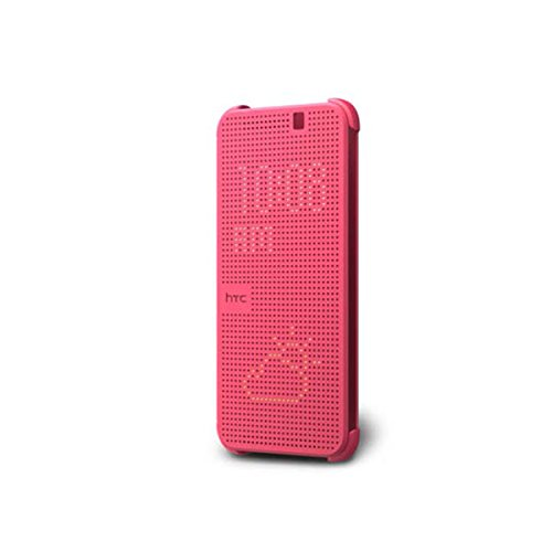 (HTC Dot View Case for HTC One M9 - Retail Packaging - Pink)
