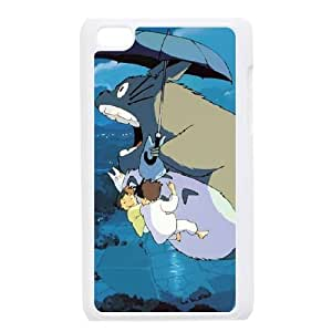 ipod 4 cell phone cases White My Neighbour Totoro fashion phone cases UTE451220