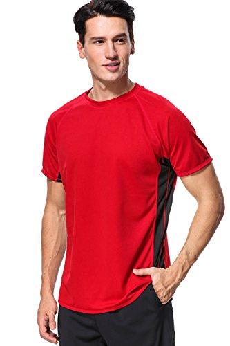 anfilia UV Surf Shirt for Men Splice Rash Guard