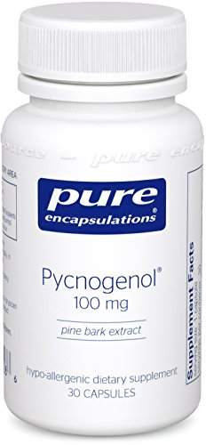 Pure Encapsulations Pycnogenol Hypoallergenic Antioxidant