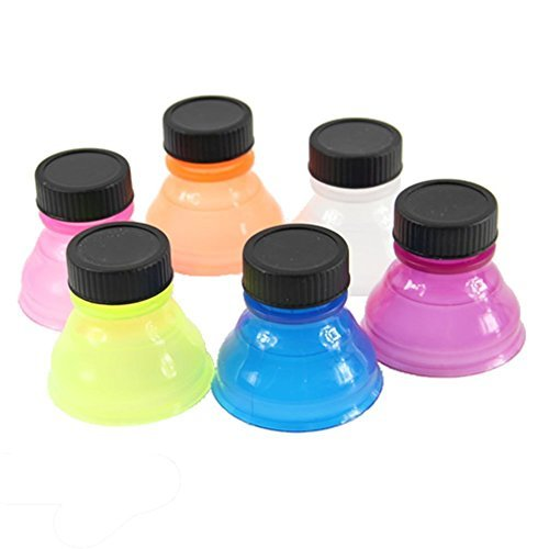 Bluelans® 6pcs Tops Snap On Pop Soda Can Bottle Cap Caps (Bottle Tops For Cans compare prices)