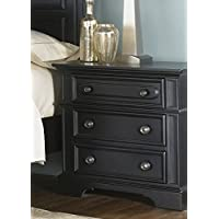 Liberty Furniture Carrington II Nightstand in Black