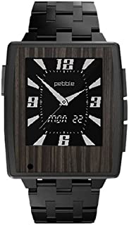 product image for Slickwraps Gold Flake Ebony Wood Series Wraps/Skins for Pebble Steel Watch - Retail Packaging - Gold Flake Ebony