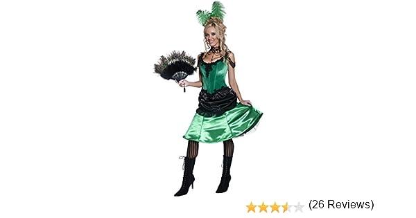 Smiffys - Disfraz de chica del oeste para mujer, talla S (36158S ...