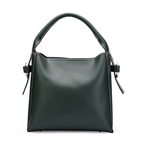 GUANGMING77 _ Satchel Bag Bolso Bolsa Bolsa De Cuchara,Portátil Rojo Brillante green