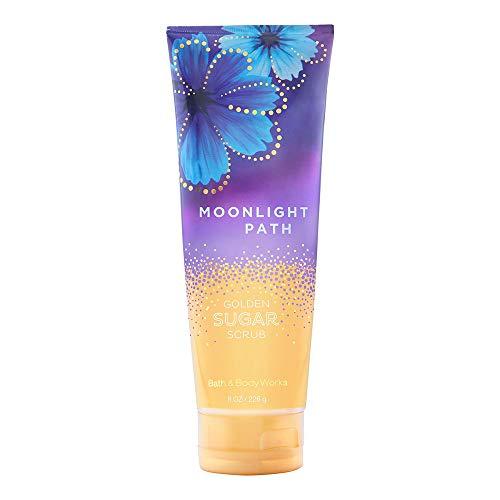 Bath Body Works Warm Moonlight Path Golden Sugar Scrub, 8.0 Ounce