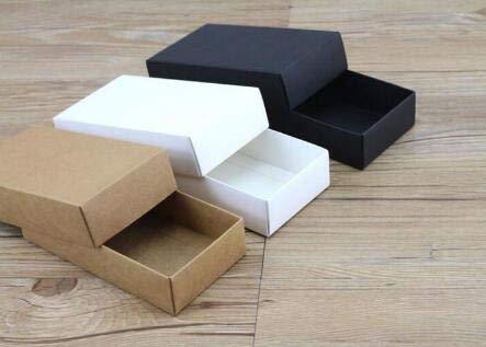 Xiaogongju 10 Sizes Kraft Black White Gift Packaging