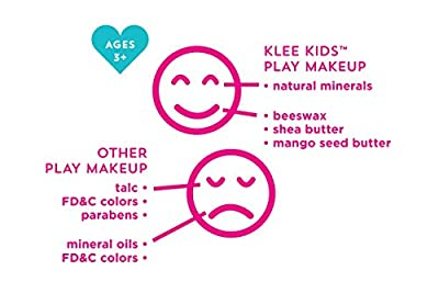 Luna Star Naturals Klee Kids Natural Mineral Makeup 6 Piece Kit