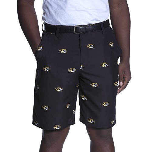 NCAA Adult Men's Game Changer Shorts, Missouri Tigers, 40, ()