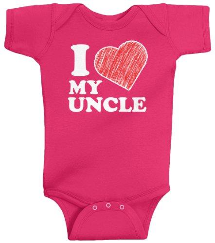 Threadrock Unisex Baby Uncle Bodysuit product image