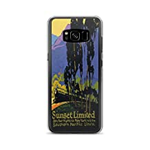 Vintage poster - Sunset Limited 1198 - Samsung Galaxy S8 Phone Case