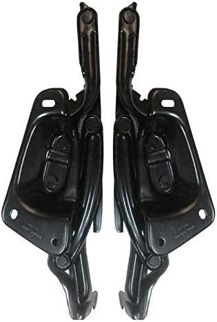 Auto Metal Direct X-Parts Driver and Passenger Side Hood Hinges