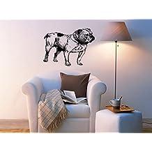Englis Bulldog Dog Puppy Breed Pet Animal Family Wall Sticker Decal Mural 2920