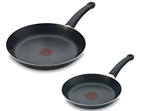 tefal supra frying pans twin set non stick 20 cm 24. Black Bedroom Furniture Sets. Home Design Ideas