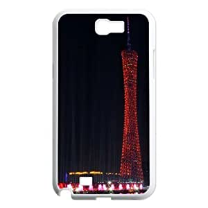 Building Unique Fashion Printing Phone Case for Samsung Galaxy Note 2 N7100,personalized cover case ygtg-348533
