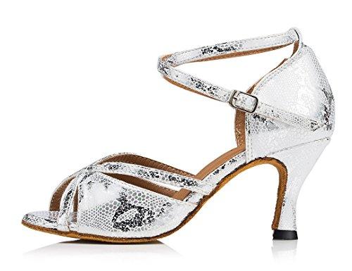 Heel Donna Moderno Joymod MGM Style1 e 7 Silver Jazz 5cm zqHCZw6