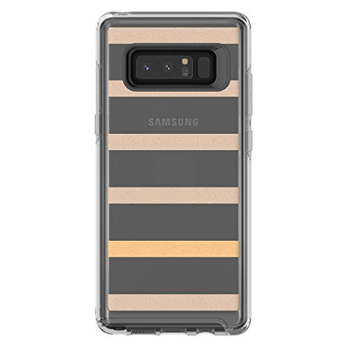 - OtterBox SYMMETRY CLEAR SERIES Case for Samsung Galaxy Note8 - Frustration Free Packaging - INSIDE THE LINE (CLEAR/INSIDE THE LINE GRAPHIC) (Renewed)