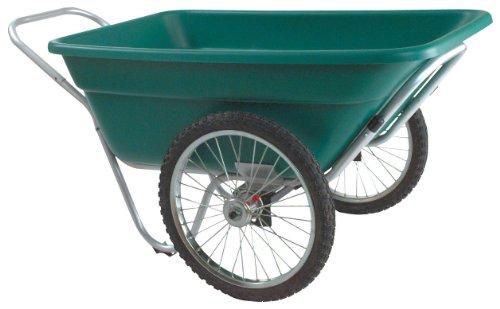 Gk Salvador LLC Smart Cart Garden And Barn Cart, 7 cubic foot - 400 Pound Capacity