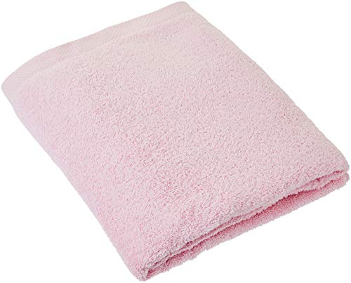 Lasa Home - Toalla de baño, algodón, Rosa, 100 x 150 x 1 cm: Amazon.es: Hogar