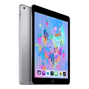 "Apple iPad 9.7"" (6th Gen. 2018) Tablet 128GB WiFi - Space Grey"