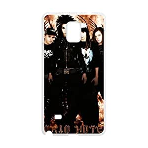 Samsung Galaxy Note 4 Cell Phone Case Covers White Tokio Hotel EDL Phone Case For Girls Personalized