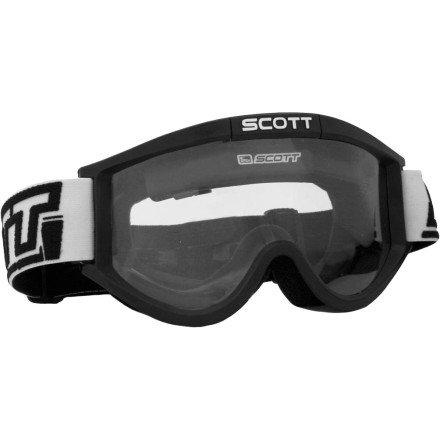 (Scott 87 OTG No Fog Fan System Goggles (BLACK))