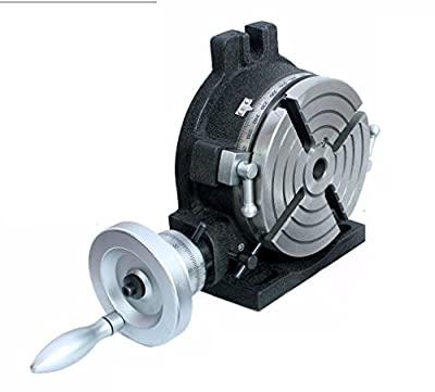 """Horizontal Vertical HV6- 4 slots Rotary Table 6"""" (150 mm ) for Milling Machine"""