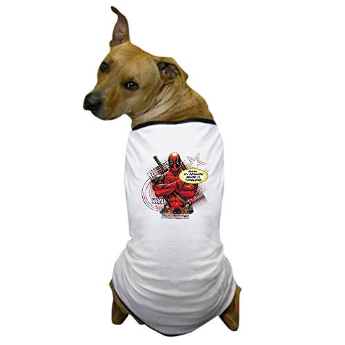 - CafePress Deadpool My Common Sense - Dog T-Shirt, Pet Clothing, Funny Dog Costume