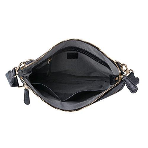 Negro Bolso Taille Piel Al Dudu Unique Hombro Para Mujer De Fgdxw0d1