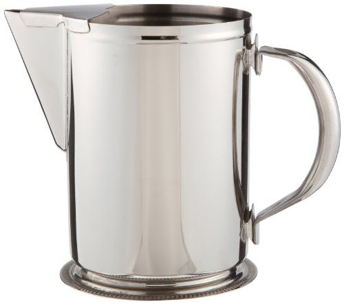 Adcraft PSS-64GB 64 oz Stainless Steel Water Pitcher