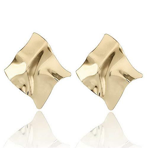 (Endicot Fashion Statement Metal Geometric for Women Boho Dangle Earrings Modern Jewelry | Model ERRNGS - 4215 |)