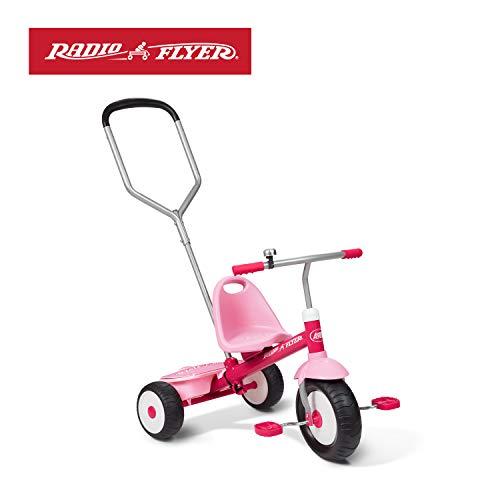 Toy Trike (Radio Flyer Deluxe Steer & Stroll Trike, Pink)