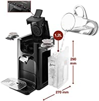 Senseo HD7865/60 - Cafetera (Independiente, Máquina de café en cápsulas, 1,2 L, Dosis de café, Negro)