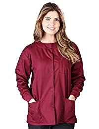 Natural Uniforms Women's Warm Up Jacket (Plus Sizes Available)