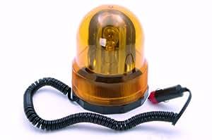 Rolson 60705 - Luz de sirena giratoria (12 V), color ámbar