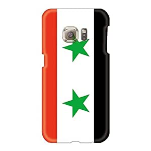 Shock Absorption Hard Cell-phone Case For Samsung Galaxy S6 (Ngq828NMwo) Provide Private Custom HD Syria Image