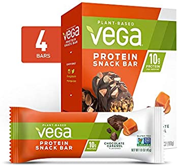 4-Pack Vega Protein Snack Bar Chocolate Caramel