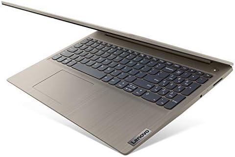 "2021 Newest Lenovo IdeaPad 3 15.6"" FHD Screen Laptop Computer, Quad-Core AMD Ryzen 5 3500U Up to 3.7GHz (Beats i7-8550U), 12GB DDR4 RAM, 256GB NVMe SSD, Webcam, WiFi, HDMI, Windows 10 + Marxsol Cables"