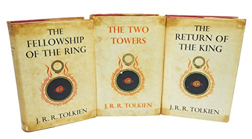 THE LORD OF THE RINGS TRILOGY three Volumes Comprising The Fellowship of the Ring, The Two Towers and The Return of the King. (Lord Of The Rings First Edition First Printing)