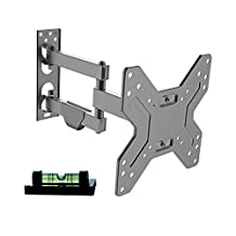"PrimeCables® LCD TV Wall Mount with Full Motion Articulating Arm For 17"" to 42"" inch Flat Screen Led Display"