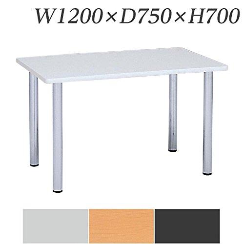 生興 テーブル マルチカチットテーブル 角型 W1200×D750×H700 4本脚タイプ KT-1275 アイボリー B015XOM4XS アイボリー アイボリー