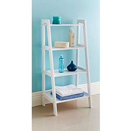ladder shelf bathroom storage unit amazon co uk diy tools rh amazon co uk