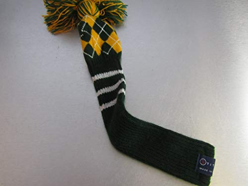 Stitch Golf Club Knit Plaid Hybrid 3 Headcover Dark Green Yellow White 3H (Stitch Golf)
