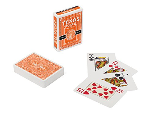 - Dal Negro - 24128 Texas Poker Playing Cards Monkey Orange
