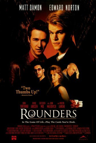 (Rounders POSTER Movie (27 x 40 Inches - 69cm x 102cm) (1998) (Style)