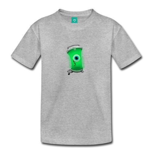 Spreadshirt Kids' Jacksepticeye Tank Eyeball T-Shirt, heather gray, Youth 2T