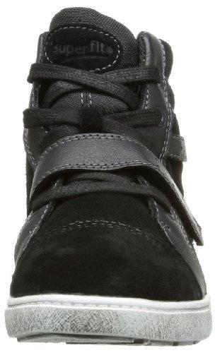 Superfit Amy 10020700 Mädchen Sneaker Schwarz (schwarz 00)