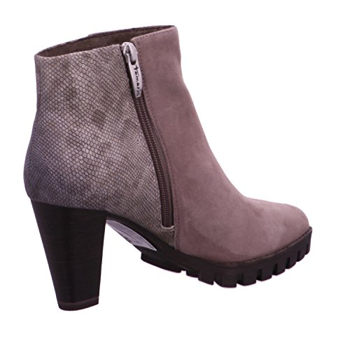 Taupe 21 25704 Leather Booties Tamaris w1fpvIqzx